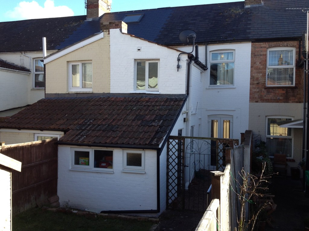 After roofing repairs taunton