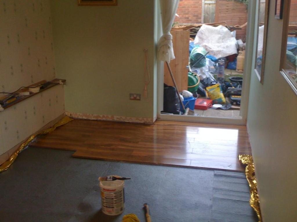 Flooring before