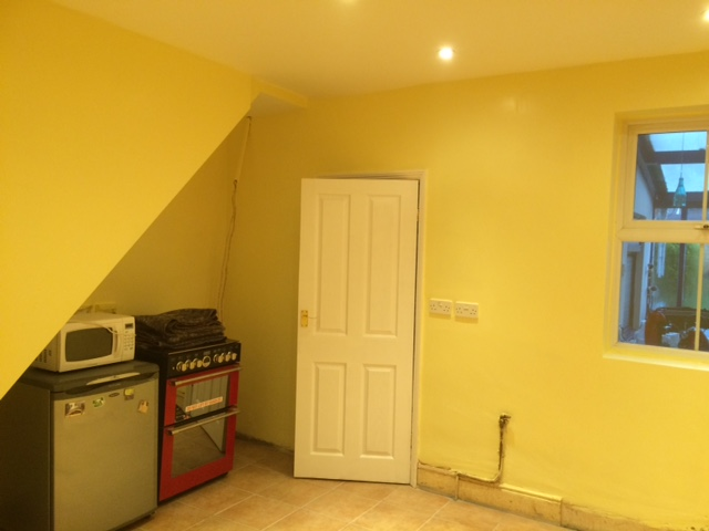 House room after painting
