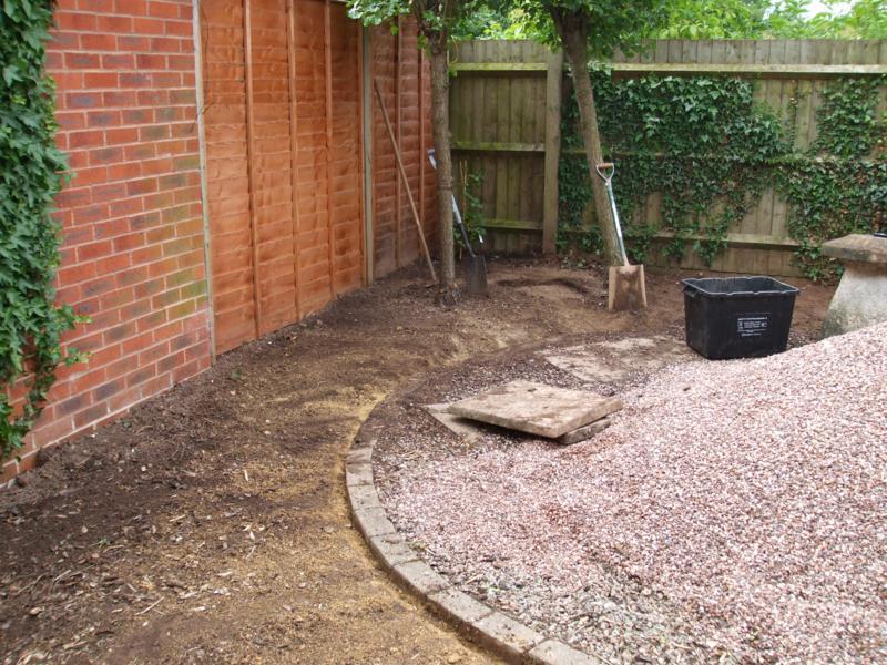 Gardening during