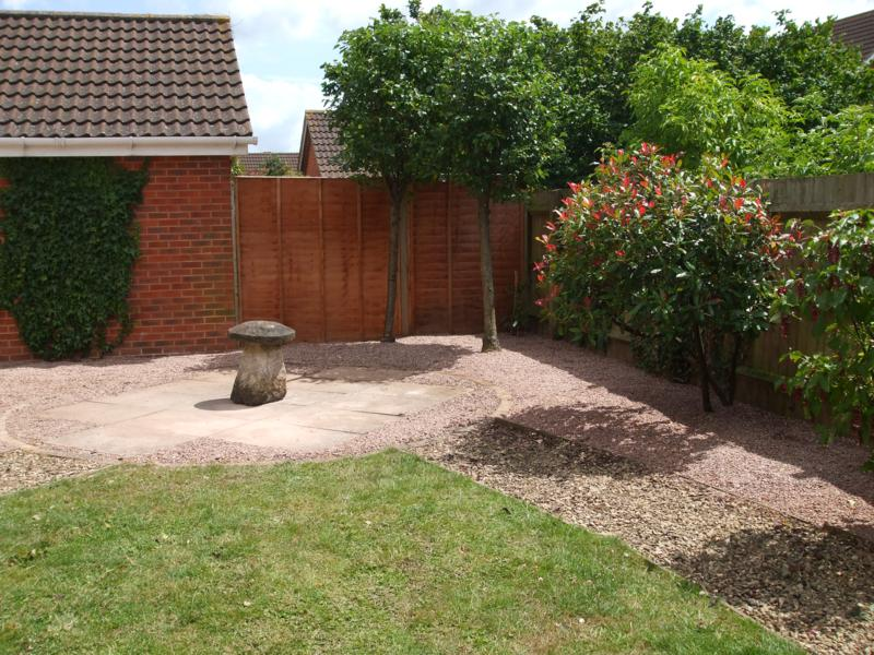 Gardening after
