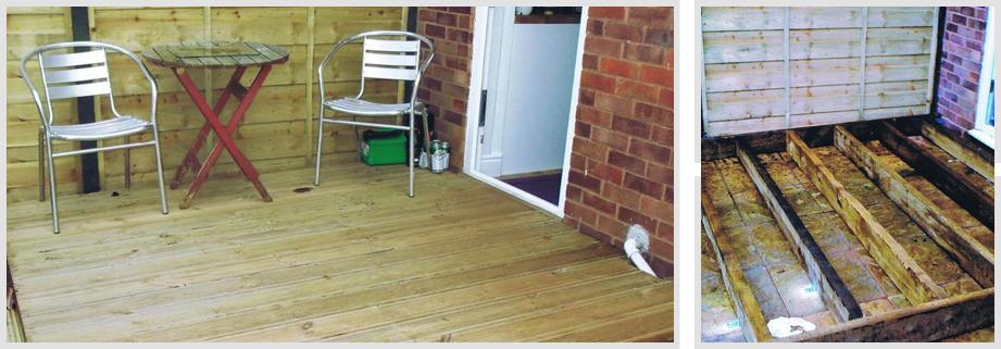 Affordable Garden Decking Services throughout Taunton & Somerset